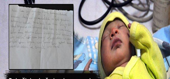 7 Günlük Bebeğini sokağa bırakan anneden ilginç not
