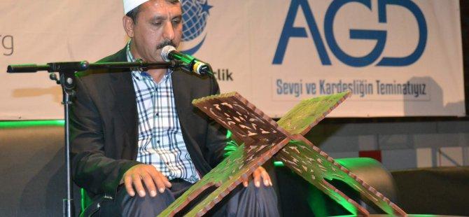 KAYSERİ'DE ANADOLU GENÇLİK DERNEĞİNDEN KUR'AN ZİYAFETİ
