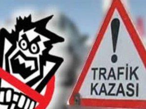Develi'de Trafik kazası