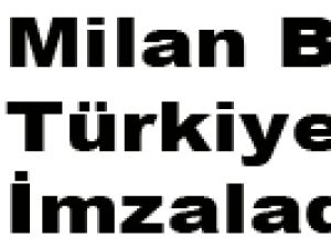 Baroş Türkiye'de İmzaladı