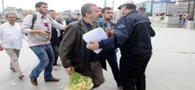 """Önder, """"Yasak giremezsiniz"""" diyen polise tepki gösterdi"""