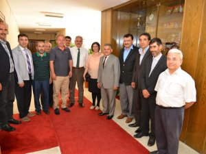 Lokantacılar odası Başkanı Köse Büyükkılıç'ı ziyaret etti