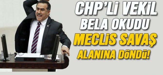 CHP'li vekil Meclis kürsüsünden Ak Partililere bela okudu