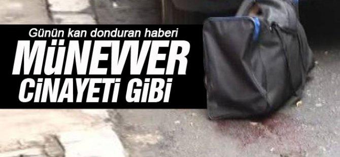 Beyoğlu'ndaki Kadın cinayeti görüntüler-video