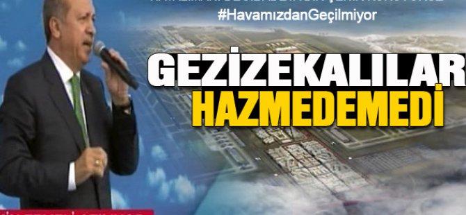 Başbakan Erdoğan, gezizekalılara seslendi