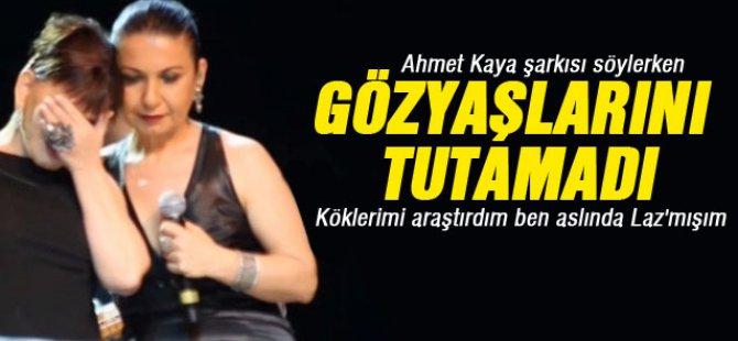 Sezen Aksu Almanya'da Ahmet Kaya için ağladı