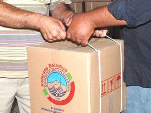 Melikgazi Belediyesi'nden  4 Bin Kişiye İaşe Paketi