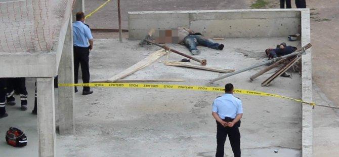 Kayseri Tacettin Veli'de İnşaat İskelesi Çöktü İki Kişi Hayatını Kaybetti