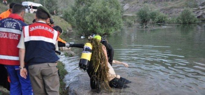 Kayseri gesi de gölette kaybolan gencin cesedi bulundu