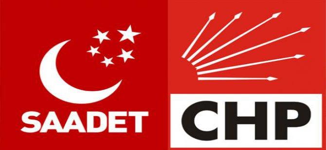 SAADET'LE CHP'NİN ORTAK YANLARI ÇIKTI