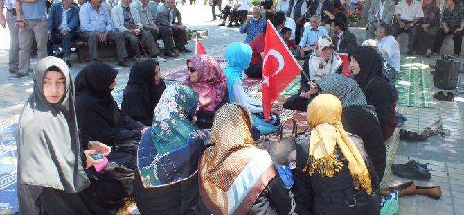 KAYSERİ MAZLUM-DER'DEN, DİYARBAKIR'DA ÇOCUKLARI KAÇIRILAN AİLELERE DESTEK