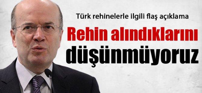 Bakan Yardımcısı Koru'dan Türk rehinelerle ilgili flaş açıklama