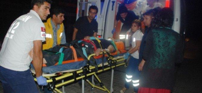 Kayseri'den Adıyaman'a Giden aile kaza yaptı 5 yaralı