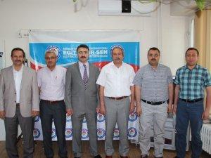 VALİ YARDIMCISI'NDAN EĞİTİM-BİR-SEN'E ZİYARET