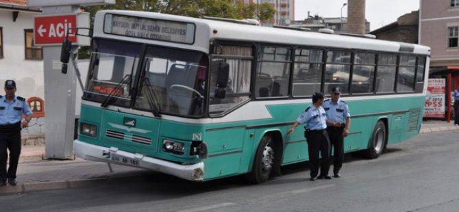 Kayseri'de Halk Otobüs Bilet Fiyatlarına Zam Yapıldı
