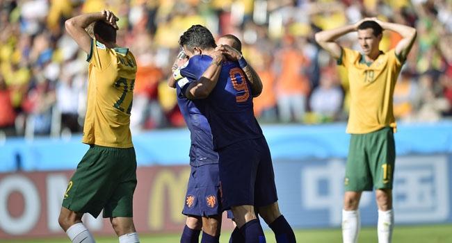 5 gollü maç Hollanda'nın - VİDEO