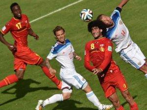 Belçika, Rusya'yı 1-0 yendi.