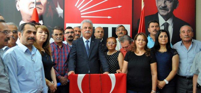 KAYSERİ CHP İL ÇATI ADAY'A TAM DESTEK