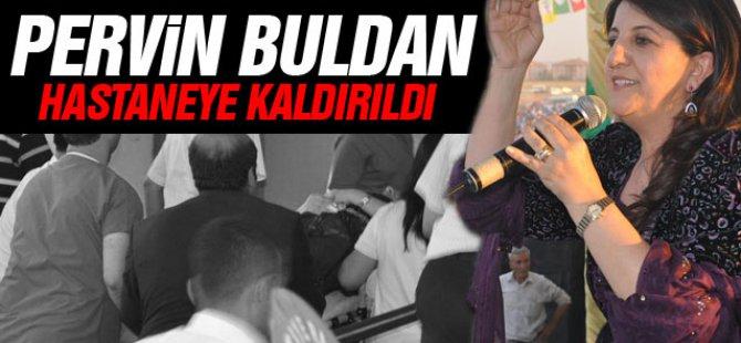 """Özgürlük mitingi""""nde fenalaşan HDP vekili Pervin Buldan bayıldı"""