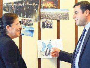 Demirtaş'ın odasındaki Türk bayrağının sırrı!