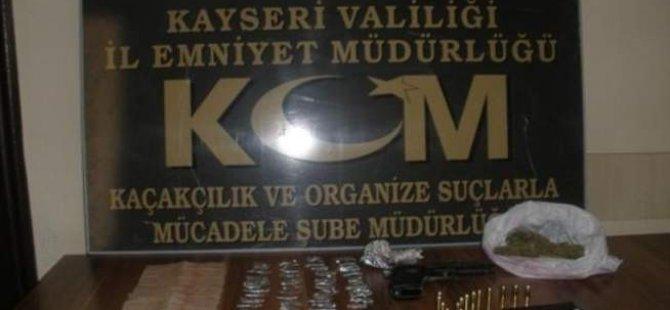 KAYSERİ'DE UYUŞTURUCU SATANLARA EPERASYON
