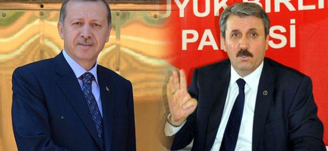 Başbakan Erdoğan BBP Başkanı Destici ile 2 saat ne görüştü