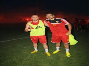 Kayserispor'lu futbolcunun yeni imajı