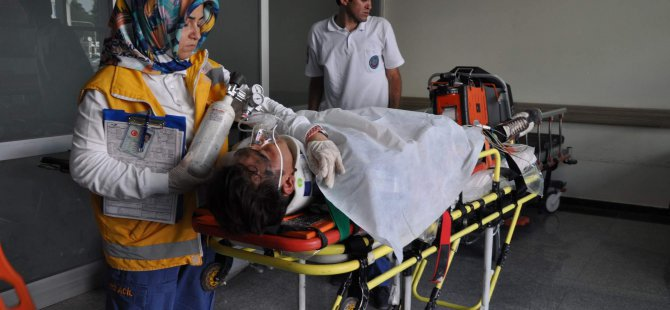 Kayseri'de 3 kişi tarafından darp edilip uçuruma attılar