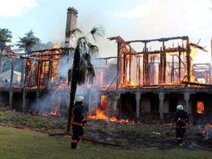 Fethi Paşa Korusu'nda yangın çıktı