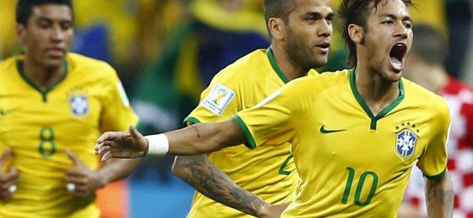 Brezilya Şili'yi penaltılarla yendi