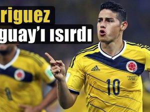 Kolombiya çeyrek finale yükseldi