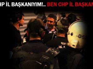 POLİS'TEN CHP'LİYE KES LAN-VİDEO