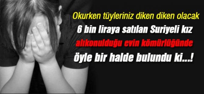 Suriyeli Kız sırnak'ta tecavüze uğradı