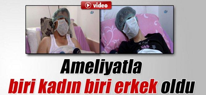 Zonguldak'da Ameliyatla biri kadın diğeri erkek oldu