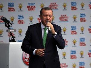 Ak Parti'nin cumhurbaşkan adayı recep tayyip erdoğan oldu