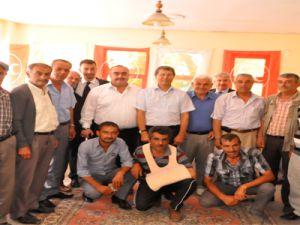 TOMARZA'DA İSTİFA 32 KİŞİ MHP SAFLARINA KATILDI