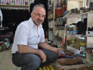 KAYSERİ'DE HURMA SATIŞLARI ESNAFIN YÜZÜNÜ GÜLDÜRDÜ