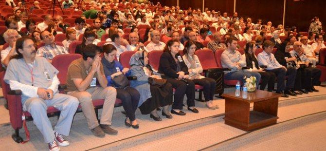 Erü'de Abdullah Talaslıoğlu'na Tören Düzenlendi