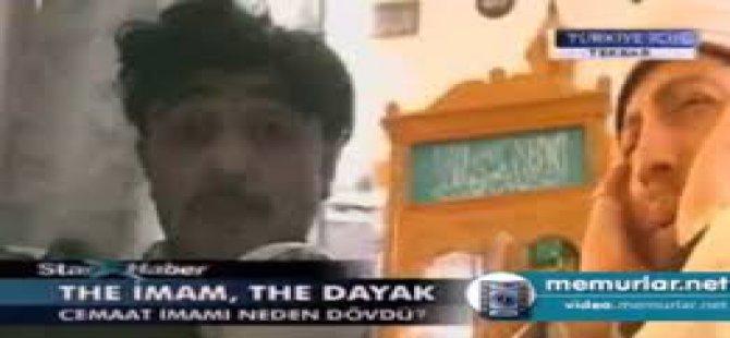 Kastamonu'da 7 dakikada teravih namazı kıldıran imam dayak yedi-video