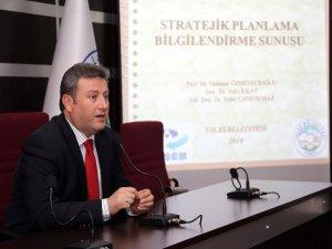Talas Belediyesi 5 yıllık stratejik planını hazırlamak için kolları sıvadı
