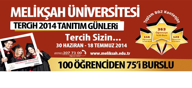 Melikşah Üniversitesi Tantım