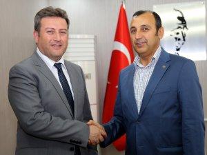 THK Kayseri Şube Başkanı Erhan Eğilmez Talas'da