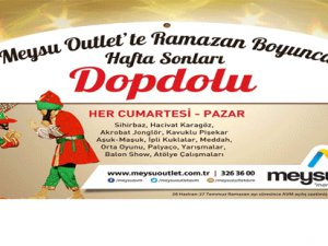 Meysu Qutlet'te Dopdolu Ramazan...