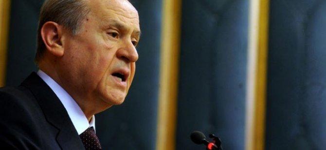 Bahçeli:Erdoğan'ın adaylığı bile gayri meşru