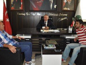 Samsunspor'un eski futbolcuları Celi Sağır