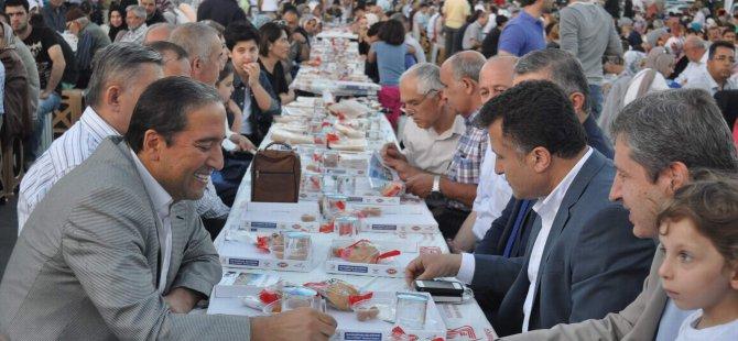Bayrampaşa Belediyesi Kayseri'de iftar verdi