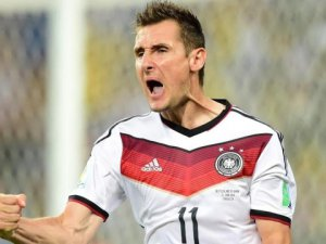 Golcü Klose Dünya kupası'nda Tarih Yazdı