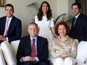 Ekmeleddin İhsanoğlu aile fotoğrafı çektirdi