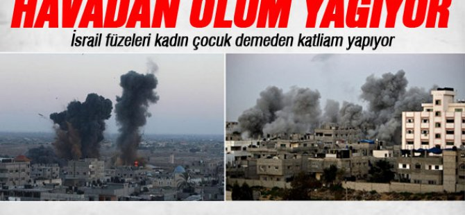 Gazze'de ölenlerin sayısı 75'e yükseldi-video
