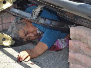 Kayseri Aşık veysel bulvarı'nda otomobiller çarpıştı 2 yaralı